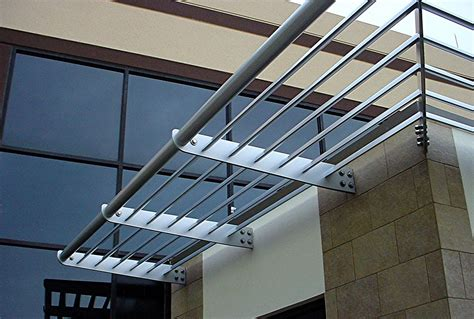 sunshade awnings architectural aluminum sunshades aluminum sunscreens sun control devices metal awnings