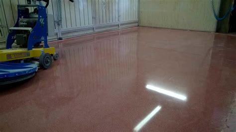 pavimenti in calcestruzzo stato risultati lucidatura cemento lucidatura levigatura