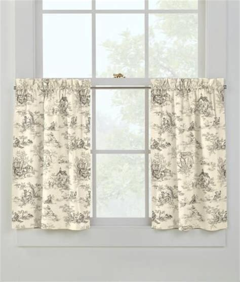 toile cafe curtains lenoxdale toile cafe curtains house pinterest