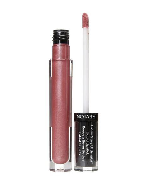 Lipstik Revlon Liquid ruj lichid revlon colorstay ultimate liquid lipstick platinum petal colorcosmetics ro