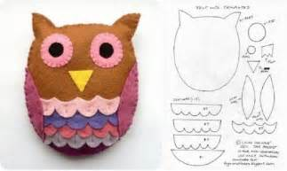 diy little felt owl template diy projects usefuldiy com