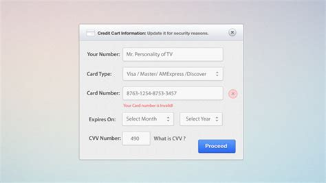 Credit Card Format Css Credit Card Form Psd And Css Creative Vip
