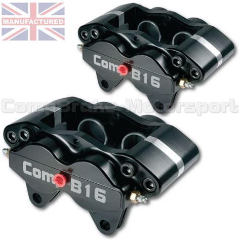 Caliper Nissin Samurai Brake Winning compbrake b16 calipers 4 pot black pair m16 gp4 direct replacement brake calipers www