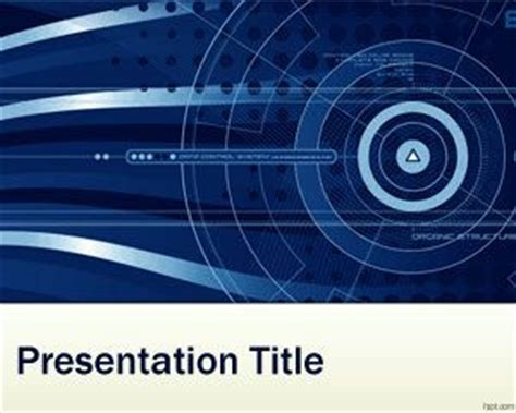 ppt themes for nanotechnology free nanotechnology powerpoint template