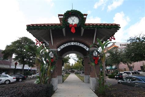 winter garden fla panoramio photo of clock tower winter garden florida