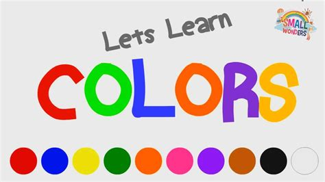 a m school colors learn colors for let s learn the colors learn