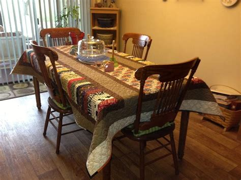 Quilting Quilted Tablecloth Kitchen Table Quilts