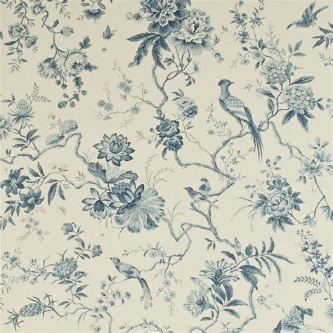 classic toile wallpaper pillemont toile wallpaper ivory china blue dpempi101