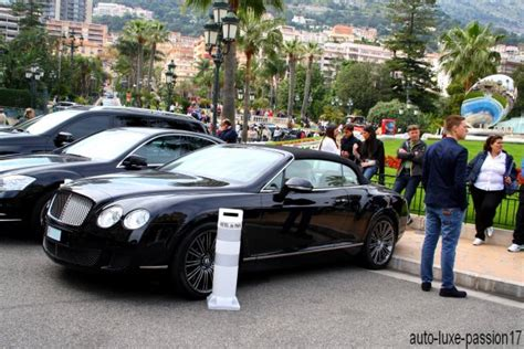 bentley monaco bentley continental gtc speed monaco de auto luxe