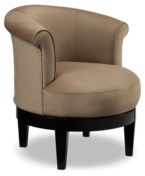 Attica Swivel Accent Chair Coffee Leon S Accent Chair Swivel