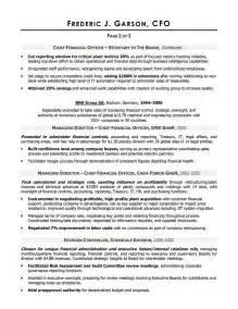 Sample Cfo Resumes resume writer for cfo executives cfo resume