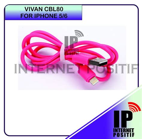 Vivan Iphone 5 Cable Cbl80 5 Colour Stronge Free S 2 jual beli kabel data charging vivan cbl80 lightning