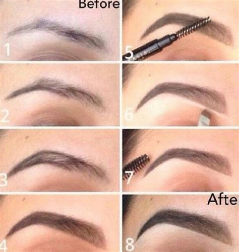 Drawing Eyebrows by How To Draw On Eyebrows Properly Permanent Makeup