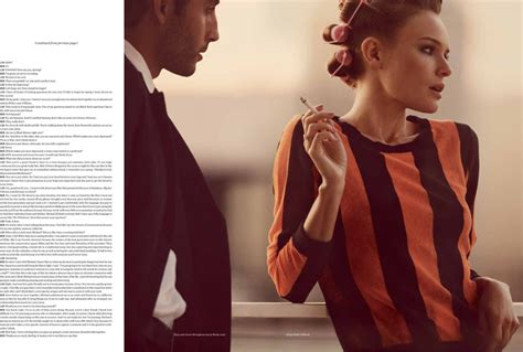 Kate Bosworth Is In V kate bosworth seduces in vs magazine s s 2013 by aroch