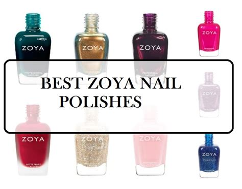 10 Prettiest Nail Polishes by 10 Best Zoya Nail Shades Reviews Best Sellers