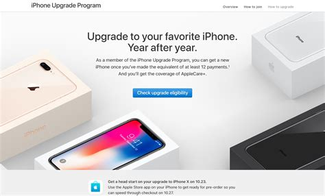 apple upgrade program apple s upgrade program offers a head start on iphone x