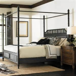Canopy Beds Vancouver Henry Link West Indies Poster Bed In Weathered Black