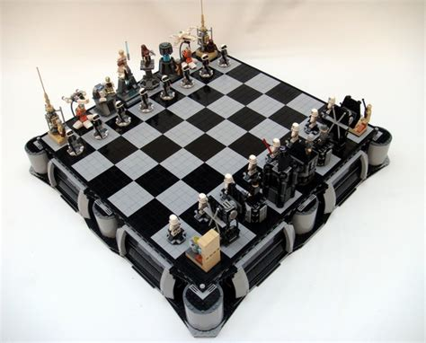 wars chess sets lego wars chess set