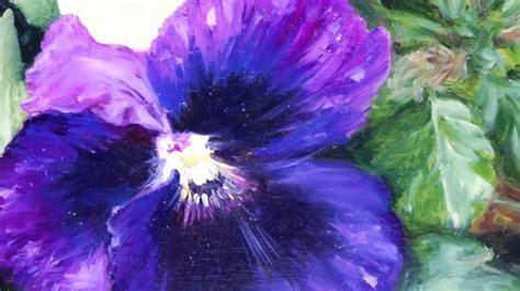 fiori da dipingere fiori pittura a olio