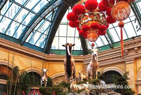 bellagio las vegas new year new year decorations at bellagio gardens and