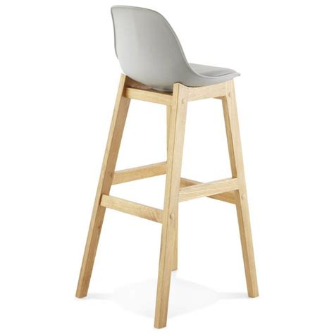 Tabouret De Bar Gris by Tabouret De Bar Design Scandinave Florence En Simili Cuir