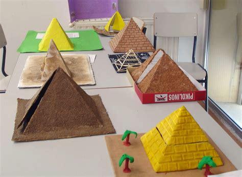 como hacer maquetas de paisajes las piramides de egipto para ni 241 os buscar con google