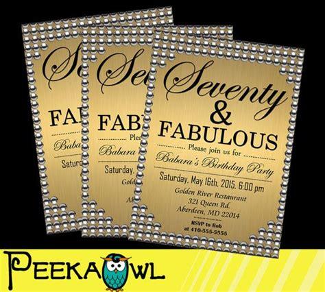Printable 70th Birthday Cards 1000 Ideas About 70th Birthday Invitations On Pinterest