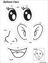 free printable eyes nose mouth eyes nose mouth and ears song resources maple leaf