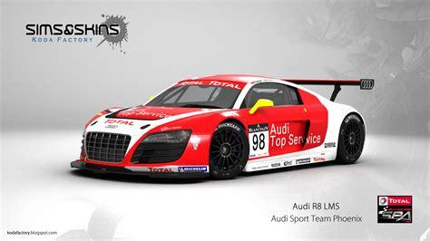 Phoenix Audi by Koda Factory Audi Sport Team Phoenix 24h Spa 2011