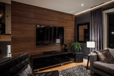 Feature Walls Ideas In Living Rooms by Living Room Shape Wallpaper As Living Room