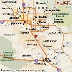 map of lakes in arizona sun lakes arizona