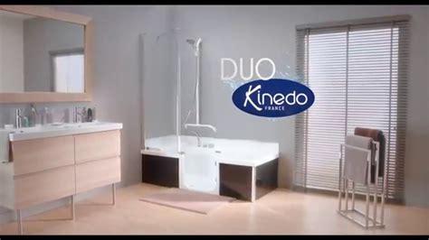 baignoire kinedo duo le remplacement de baignoire par une bain