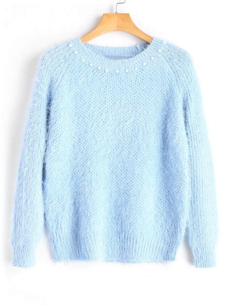 light blue sweater baby blue sweater s fashion skirts