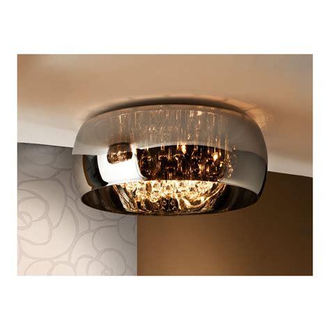 argos oval glass bowl flush ceiling light fitting