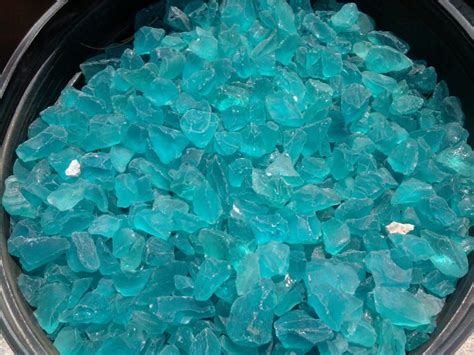 Glass Rocks Garden Decoration by Landscaping Recycled Green Glass Rocks For Garden