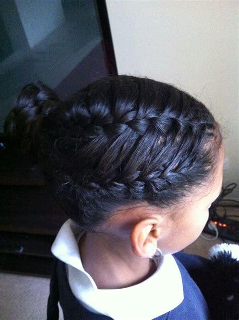 frechbraids blackwomen 3 charming hairstyles with french braids for black women