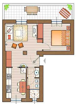 progetti mini appartamenti un mini appartamento la casa giusta