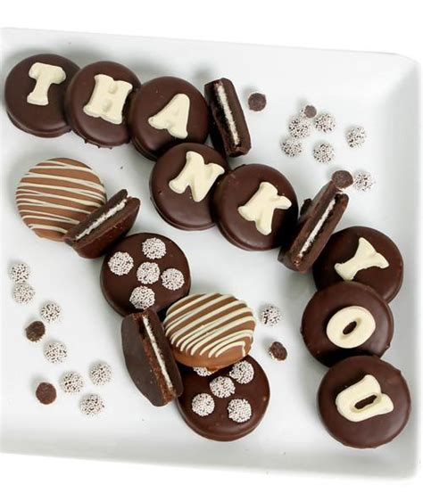 thank you letter chocolate gift chocolate covered company 174 thank you gifts