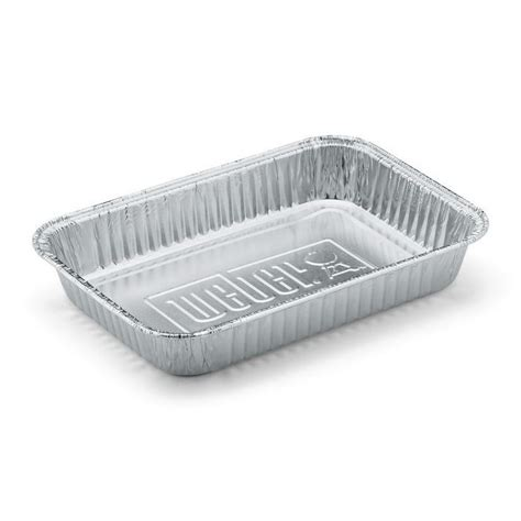 vaschette alluminio per alimenti vaschette weber in alluminio per barbecue a gas