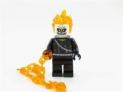 Lego 76058 Ghost Riders lego marvel heroes ghost rider minifigure 76058 mini fig play on bricks