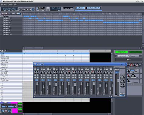 tutorial hydrogen drum machine linux rock star