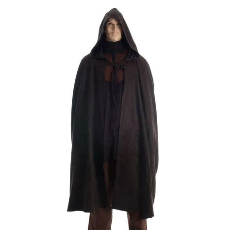 Suede Effect Cloak   Black