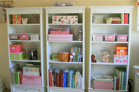 Craft Shelf by Craft Room Sew Thrifty