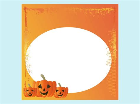 halloween card template vector art graphics freevector com