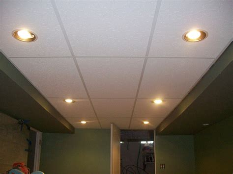 drop ceiling and recessed lights flickr photo