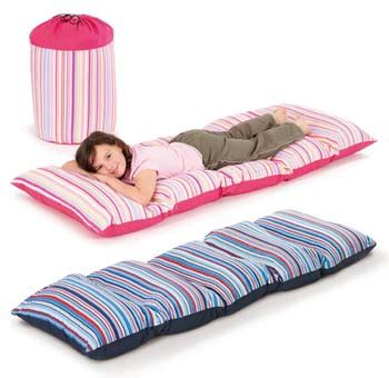 Futon In A Bag by Beds Just4kidz Fun4kidz Nap Sack Bed In A Bag