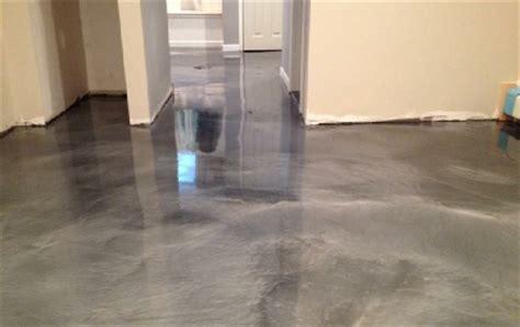 Garage Floor Paint On Metal Metal Illusion Epoxy Floors