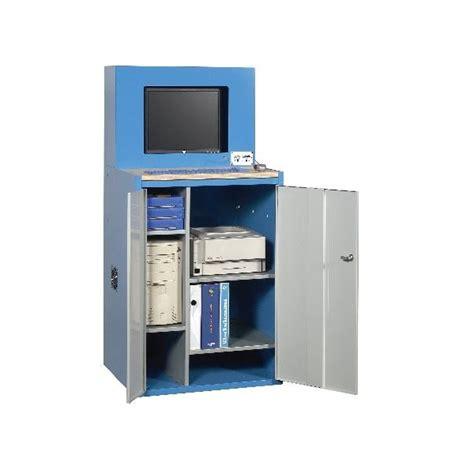 armoire informatique bois armoire informatique ecran plat