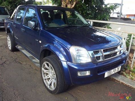 isuzu dmax 2006 2006 isuzu d max for sale 450 000 rs rose belle mauritius
