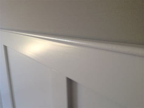 Wainscoting Top Rail Rail And Stile Wainscot Question Page 2 Finish
